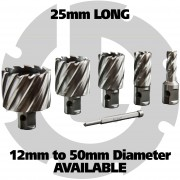25mm HSS Annular Cutters