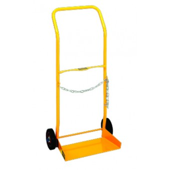 'E' Size Cylinder Trolley with Rubber Wheel