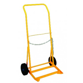 'G' Size Cylinder Trolley with Rubber Wheel