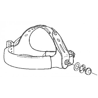Speedglas 9002/100 head harness attachments