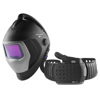 3M™ Speedglas™ Welding Helmet 9100XXi Air with Adflo Powered Air Welding Respirator