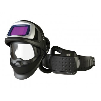 3M™ Speedglas™ Flip-Up Welding Helmet 9100XXi FX Air with Adflo Powered Air Welding Respirator