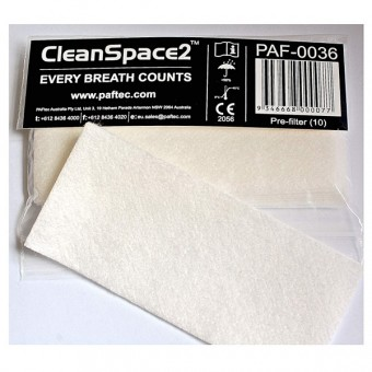 Pre-filter for  PAFTEC CleanSpace2 (pack of 10)