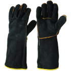 Black and Gold Welding Glove