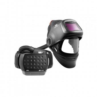 Speedglas G5-01VC heavy-duty welding helmet with heavy-duty Adflo PAPR